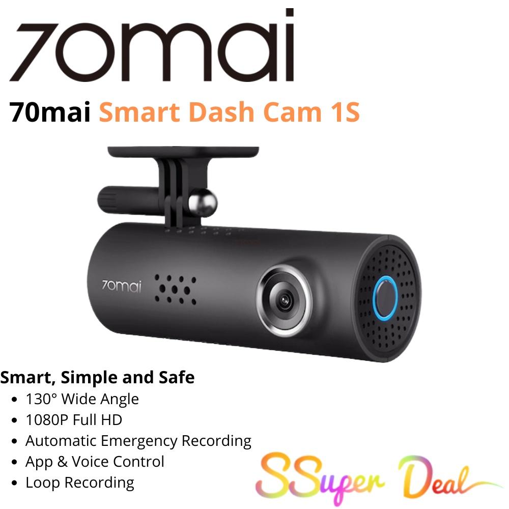 (English Global) 70mai Smart Dash Cam 1S ,Sensitive yet Toug...