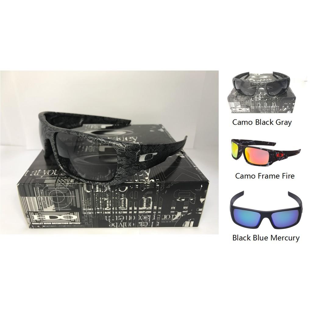 87380e7d85 Men 2017 New Oakley Crankshaft Polarized Iridium Sunglasses