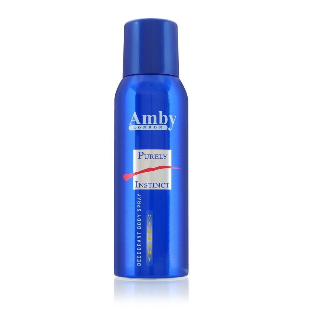 Amby London Deodorant Body Spray (125ml)