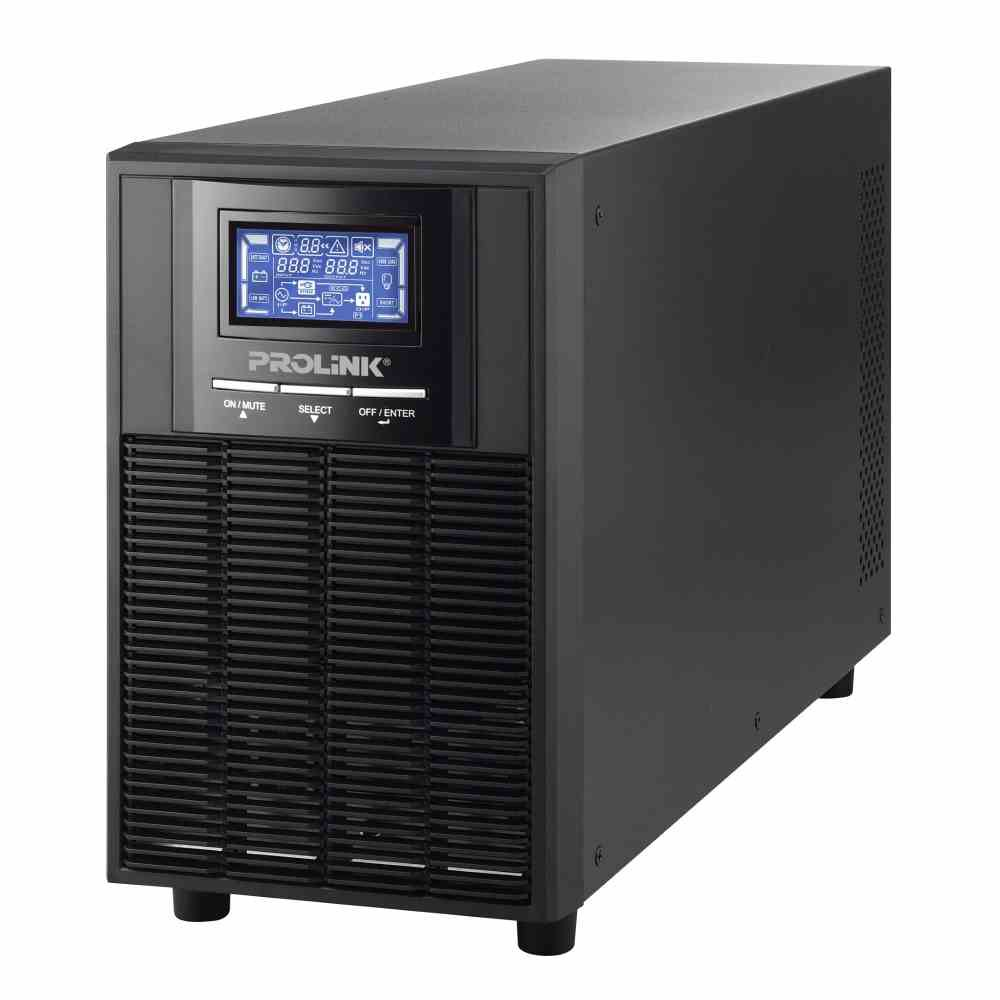 PROLiNK 2KVA / 1600W Pure Sine Wave Online UPS with AVR PRO902WS