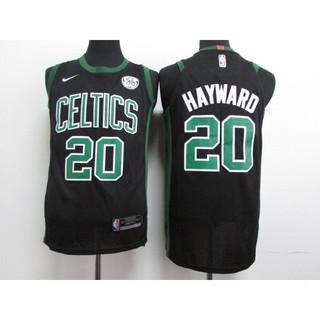 quality design dfed1 55d15 NIKE NBA Boston Celtics Gordon Hayward #20 black basketball jersey S-XXL
