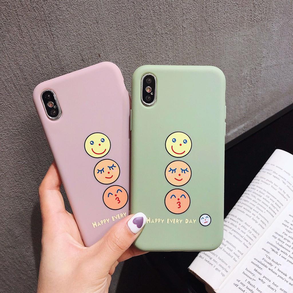 Xiaomi Redmi Note 7 Redmi 6 Smile Emoji Pattern Soft Phone Case