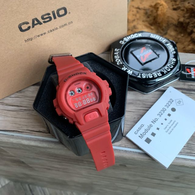 G-SHOCK DW6900 RED OUT EDITION