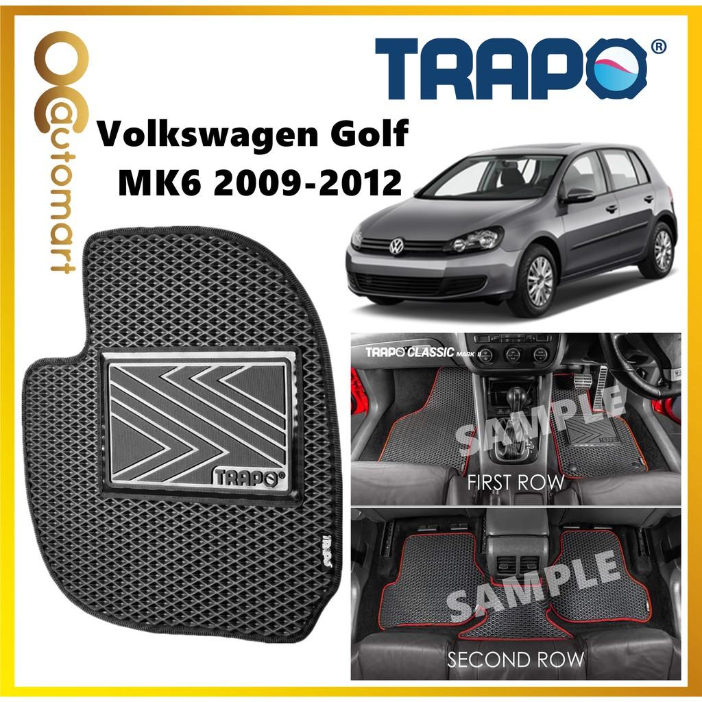 TRAPO Customize Car Floor Mat for Volkswagen Golf MK6 (2009 - 2012)