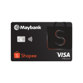 RM20 off Min. Spend RM120 with Maybank Shopee Credit Card