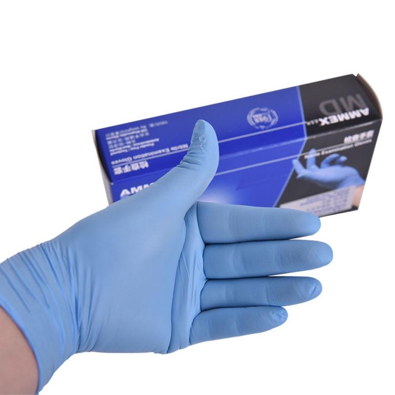 100pcs M L Xl Disposable Soft Black Tattoo Gloves Dental Medical Nitrile Latex Sterile Gloves Permanent Makeup Body Art Large Assortment Tattoo & Body Art Tattoo Accesories
