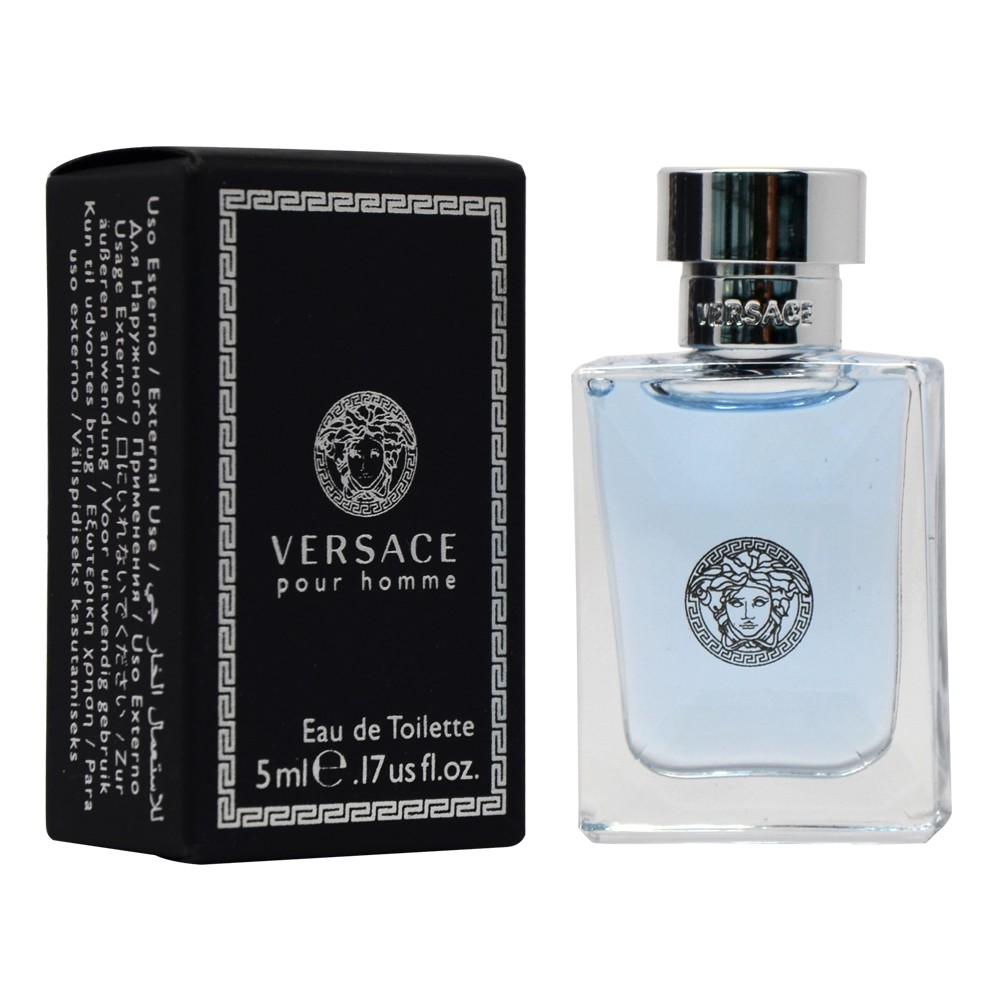 70be3b5298dc Versace Dylan Blue Pour Homme EDT 5ml   Perfume Miniature     Shopee  Malaysia