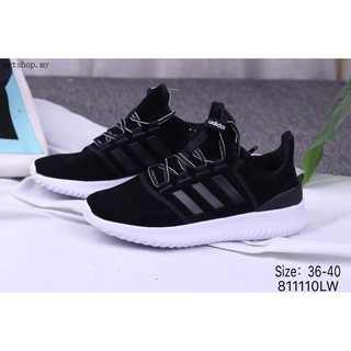 Original ADIDAS neo cloudfoam ultimate women sports shoes running sneakers black