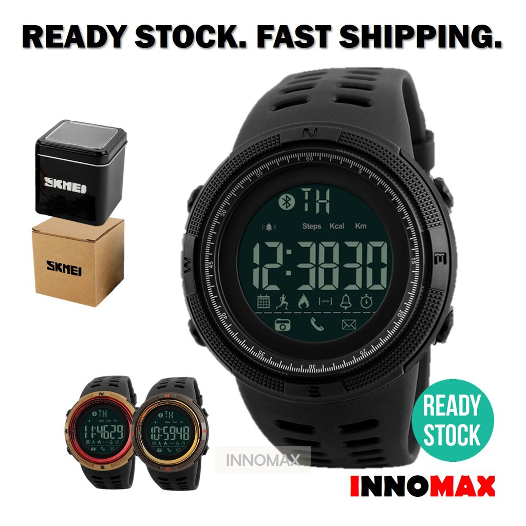 Skmei Mens Sports Watches Digital LED Military Men Fashion Casual Wristwatches | Shopee Malaysia