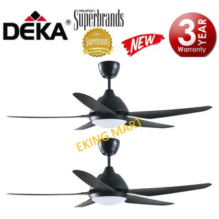 New Colour Elmark 52 Ceiling Fan With Remote Amp Led Light Airbus777 767 757 Shopee Malaysia