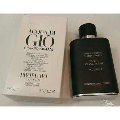 Authentic Tester Acqua Di Gio Profumo By Giorgio Armani 75ml Edp