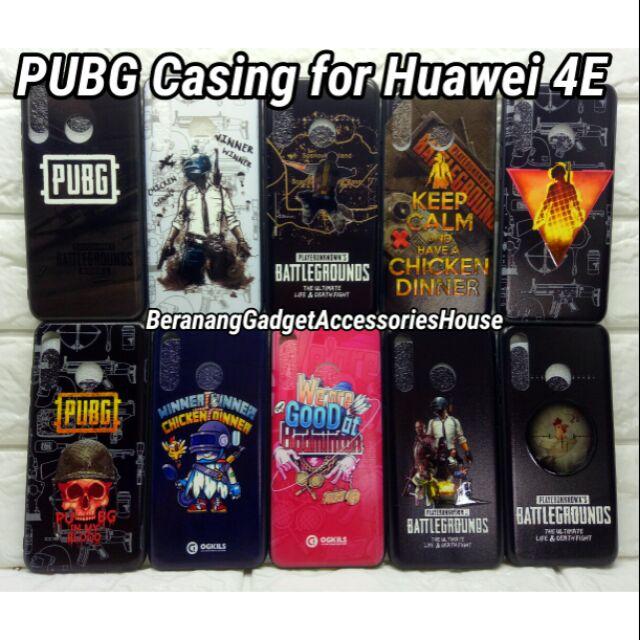 Hot item !! PUBG Casing for Huawei Nova 4E