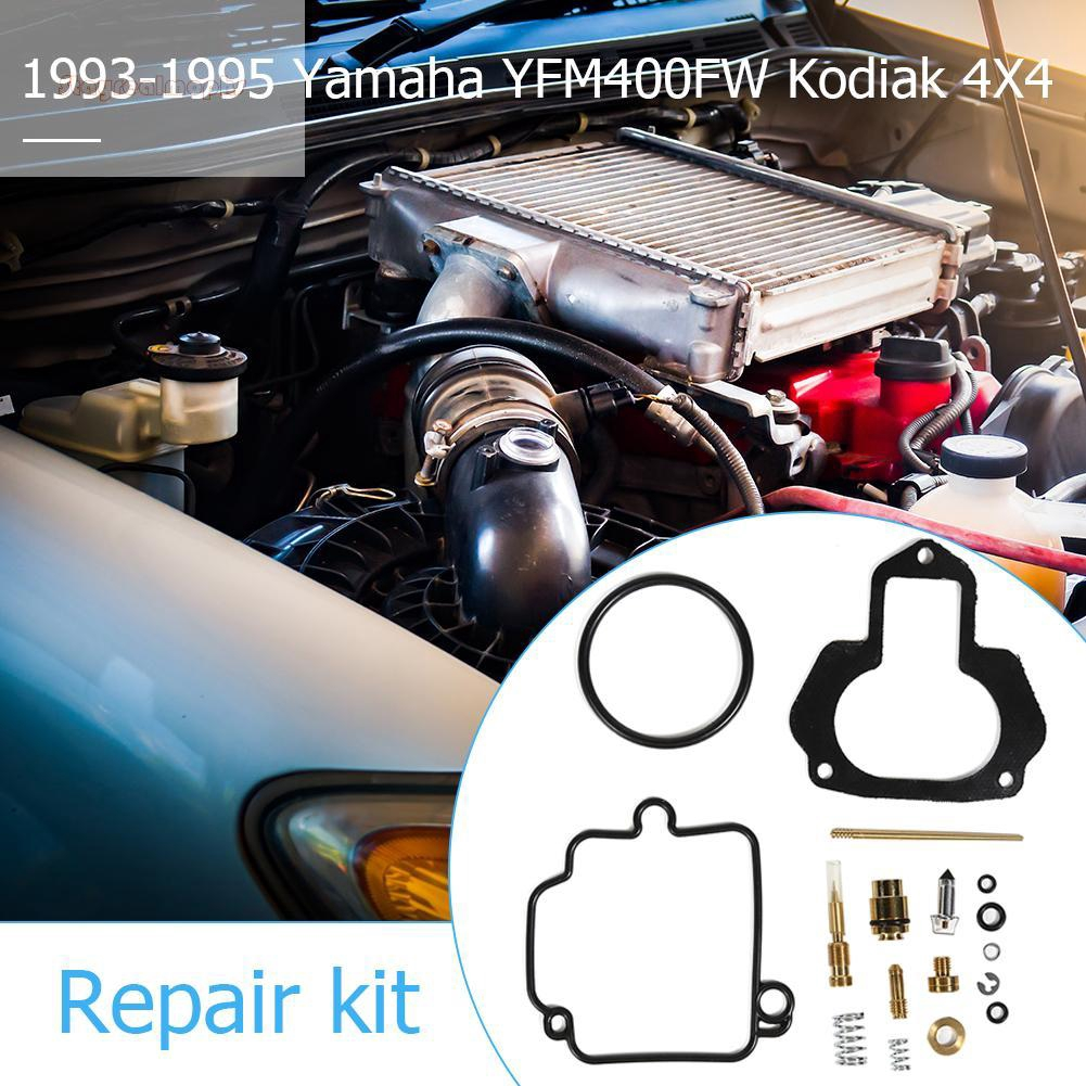 (y)Professional For Yamaha Kodiak 400 YFM400FW 4x4 1993 1994 1995 Carb  Repair Carb Rebuild Kit