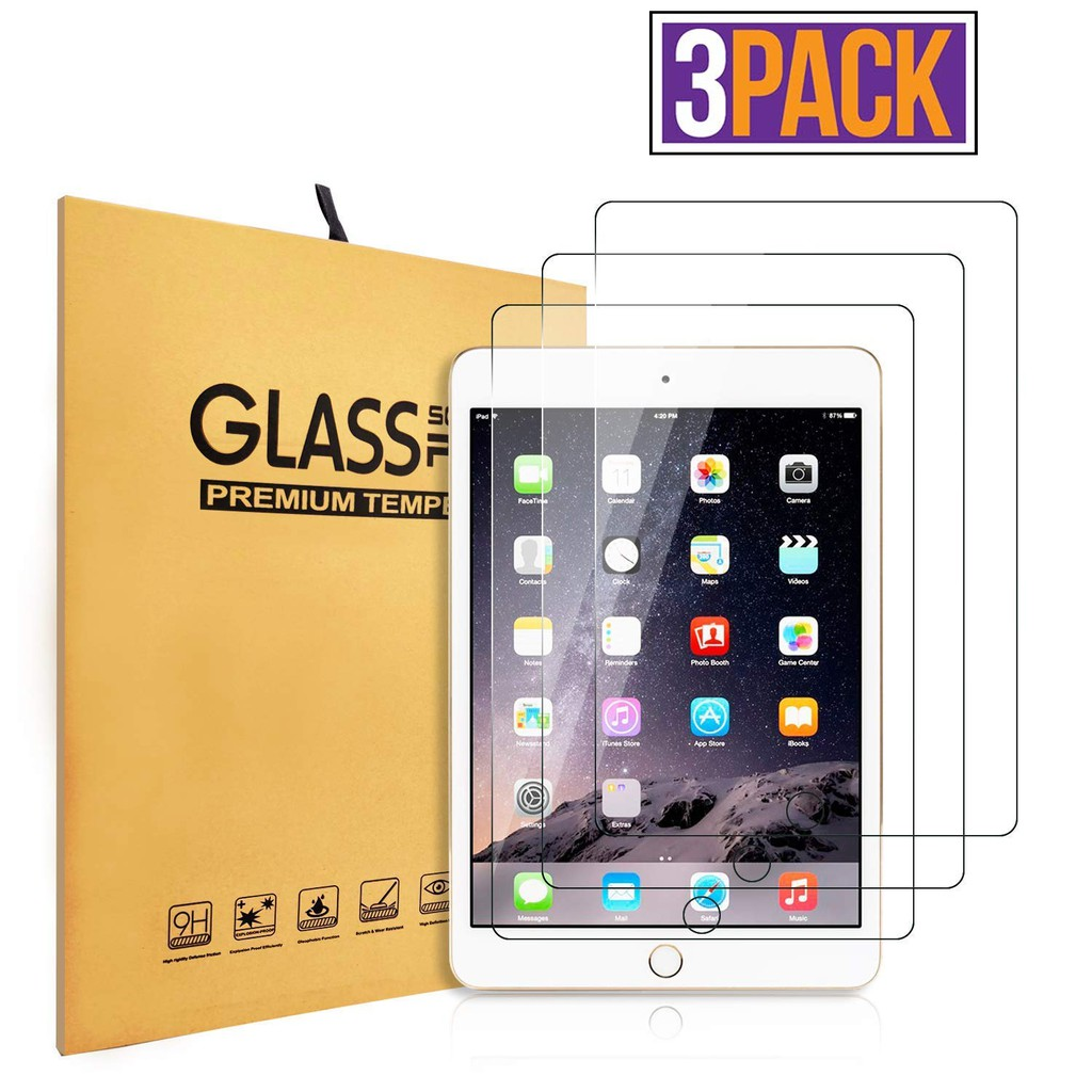 2Pcs For iPad 9.7 2018 6th Gen Premium 9H Tempered Glass Screen Protector Film