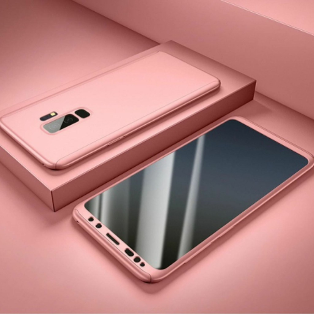 COVER per Iphone X / XS / Max / XR CUSTODIA Fronte Retro 360