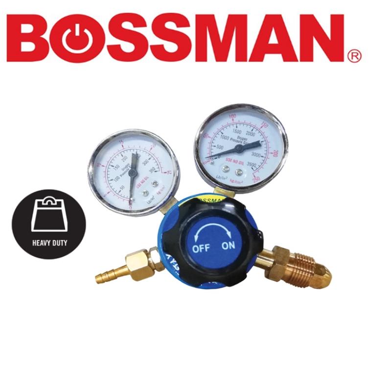 BOSSMAN BBO 130 HEAVY DUTY BRASS MADE OXYGEN REGULATOR  EASY USE SAFETY GOOD QUALITY