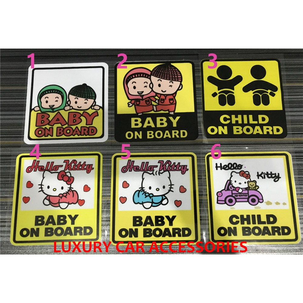 3d99ede0596 HW 1Pcs Car Baby Warning Safety Suction Sticker Baby on Board Baby Auto
