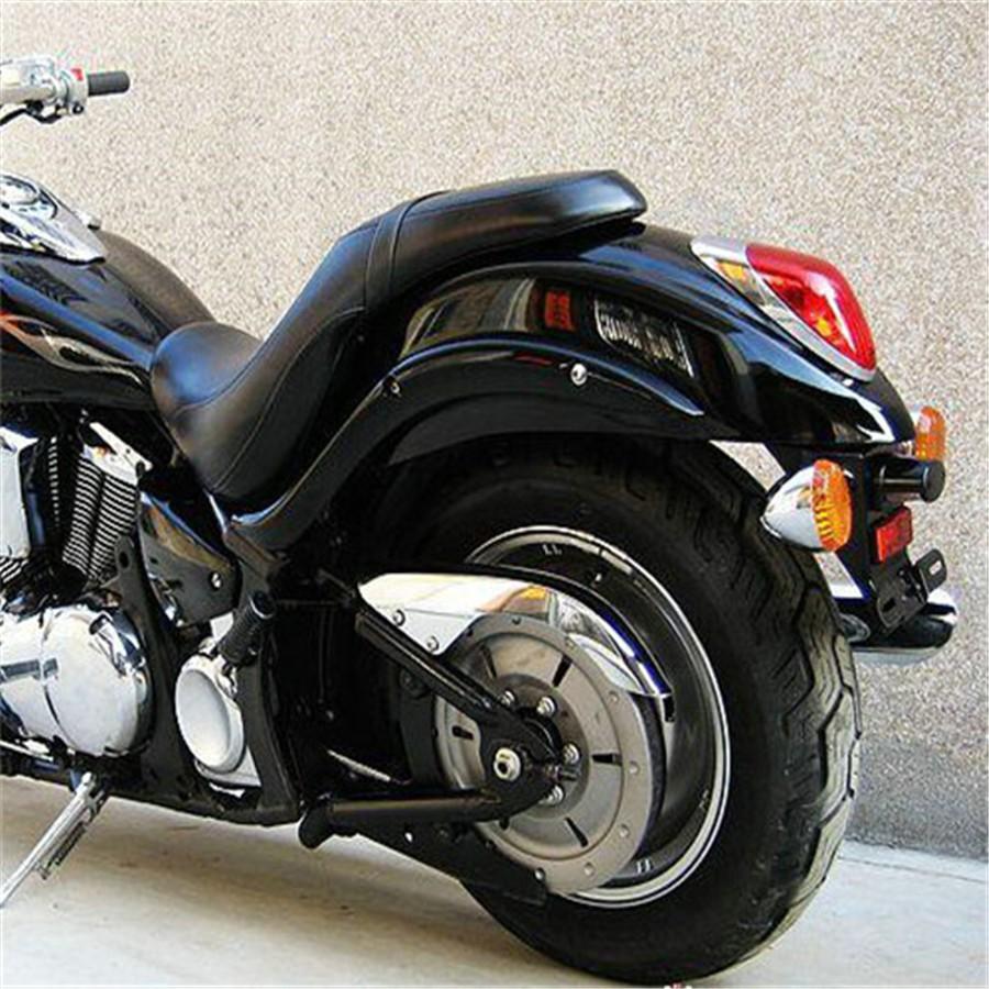 Black Indicator Brackets,Clamp-type Cafe Racer Bobber Chopper Custom Cruiser