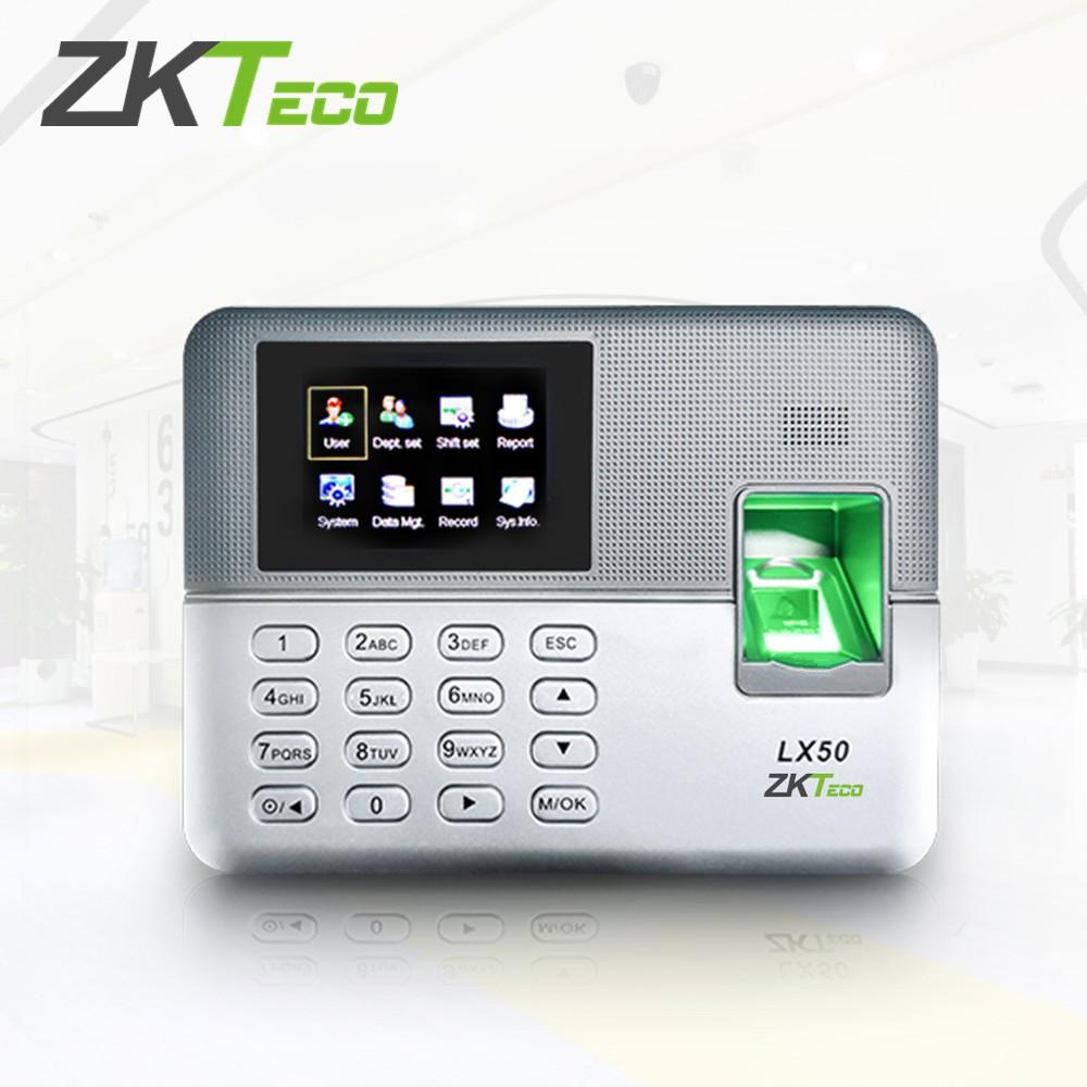 ZKTeco 2 8 inch TFT USB Fingerprint Time Attendance Machine Time Clock LX50