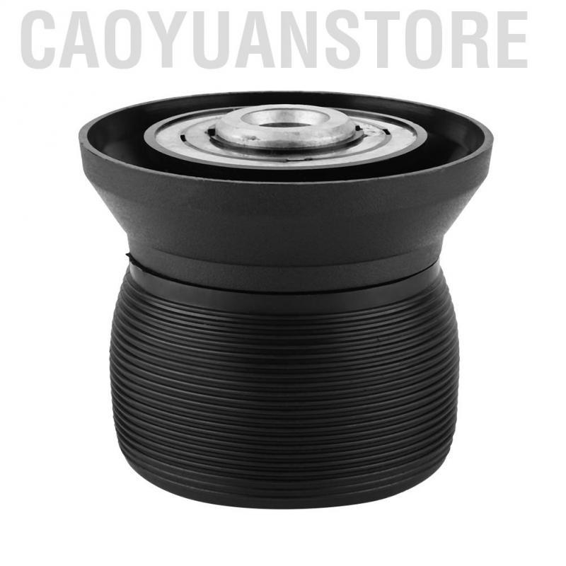 Black Qiilu Universal 6 Hole Bolt Ball Steering Wheel Quick Release Hub Adapter Snap Off Boss Kit