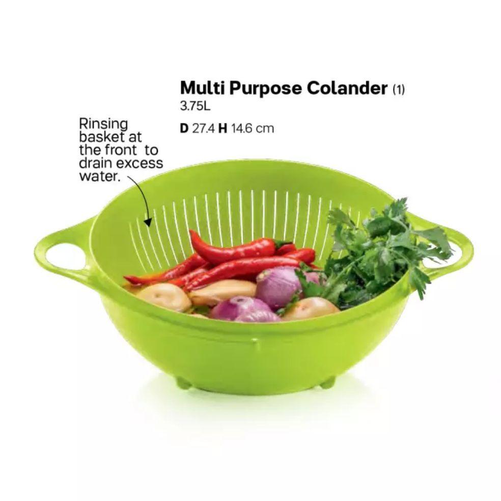 Multipurpose Colander / Penapis Sayur, Buah, Ikan Saiz 3.75L Tupperware