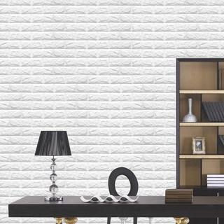 Brick Pattern Wallpaper Bilik Tidur