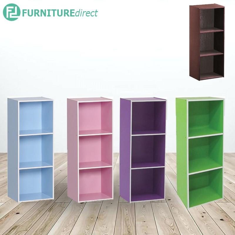 TIGUAN color box bookcase display rack