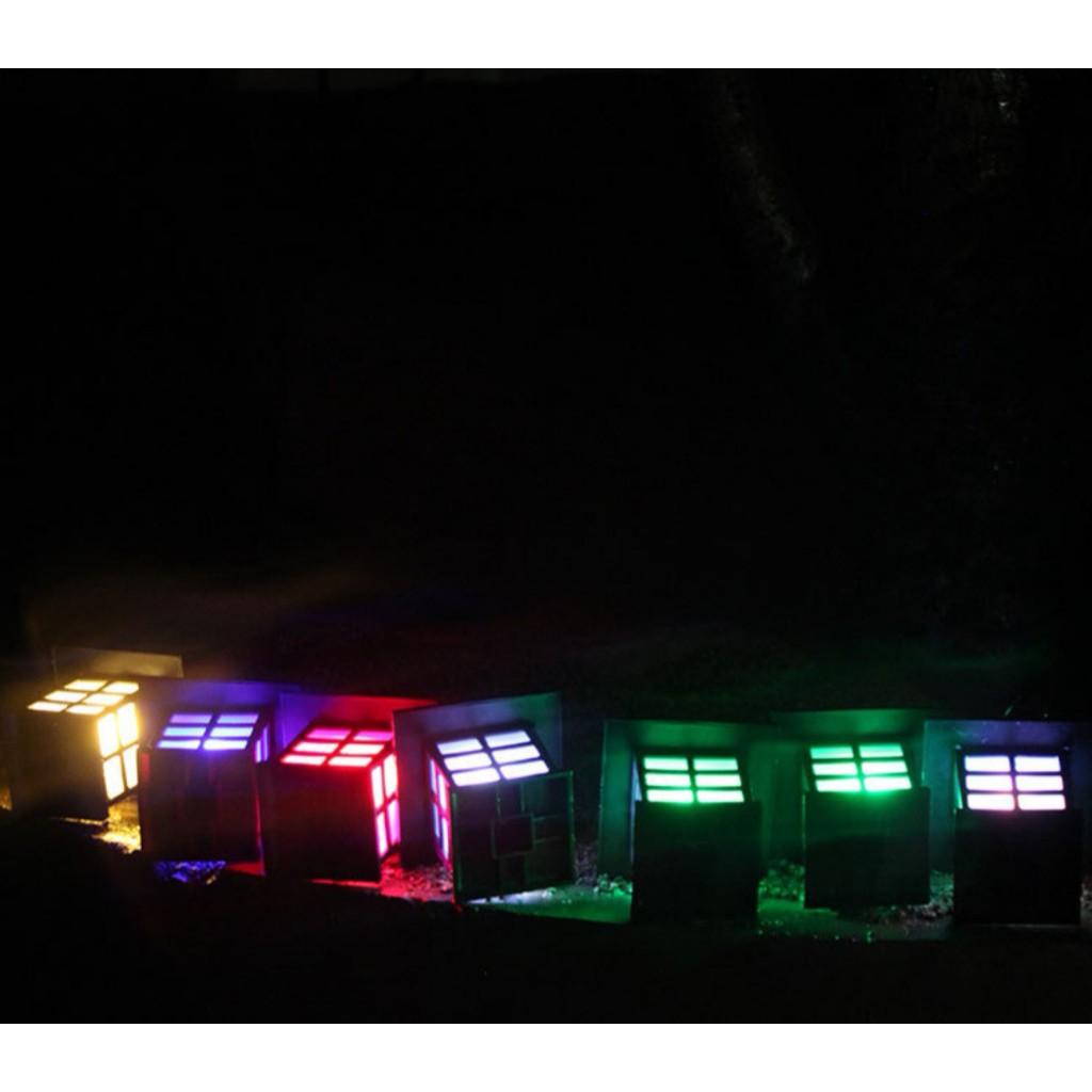 [ READY STOCK ]  Solar Power Lawn Light Colour Garden Decoration Lamp Pelita Lampu Raya Jualan Murah Led Flood Street