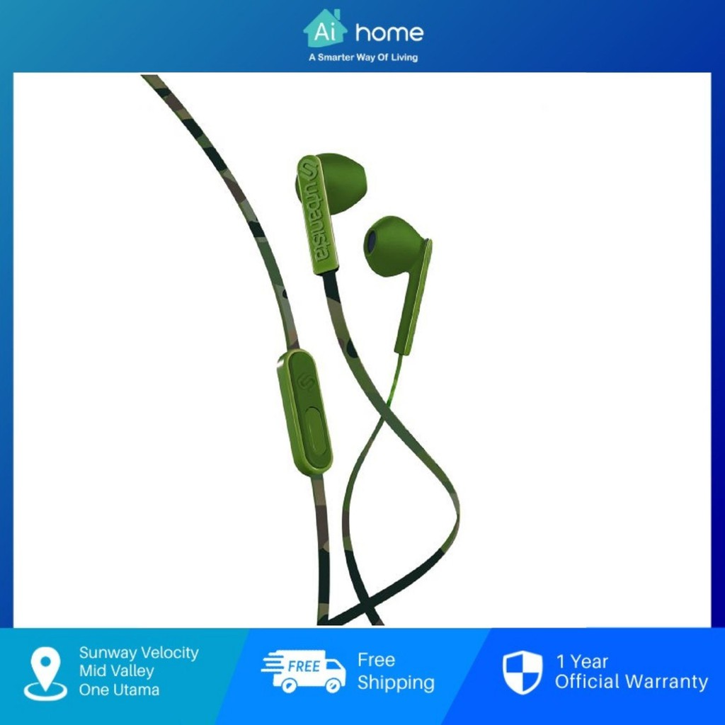 URBANISTA San Francisco - Wired In-Ear Headphones   Dynamic Ear-Pods   Call-Handling with Microphone   3.5mm Stereo