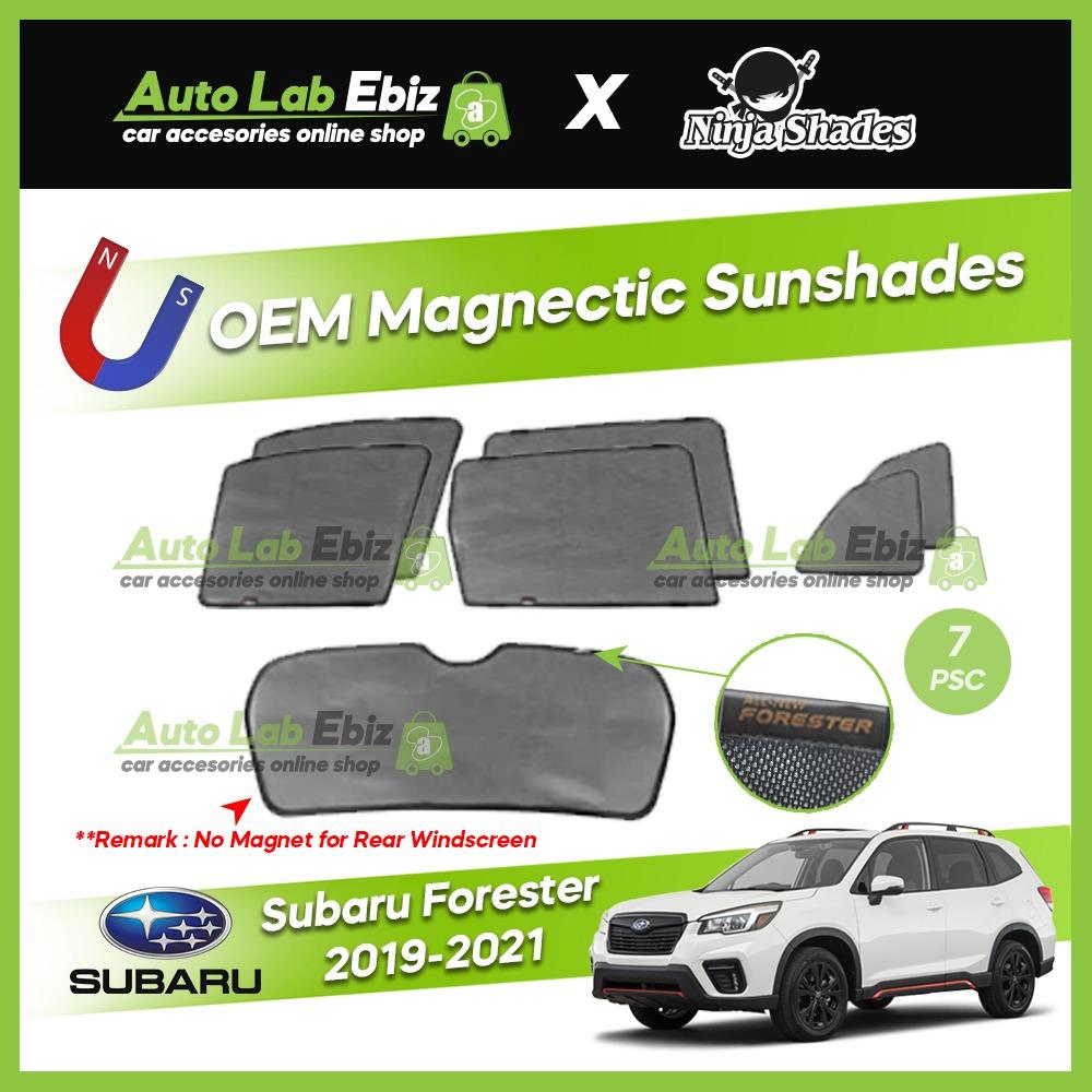 Subaru Forester 2019-2021 Ninja Shades OEM Magnetic Sunshade (7pcs)