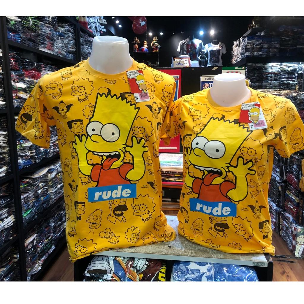 เสื้อยืด ซิมสัน Simpsons ลิขสิทธ