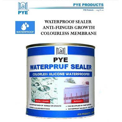PYE Waterpruf Sealer BATHROOM WATERPROOF SEALER COLOURLESS ANTI LEAK