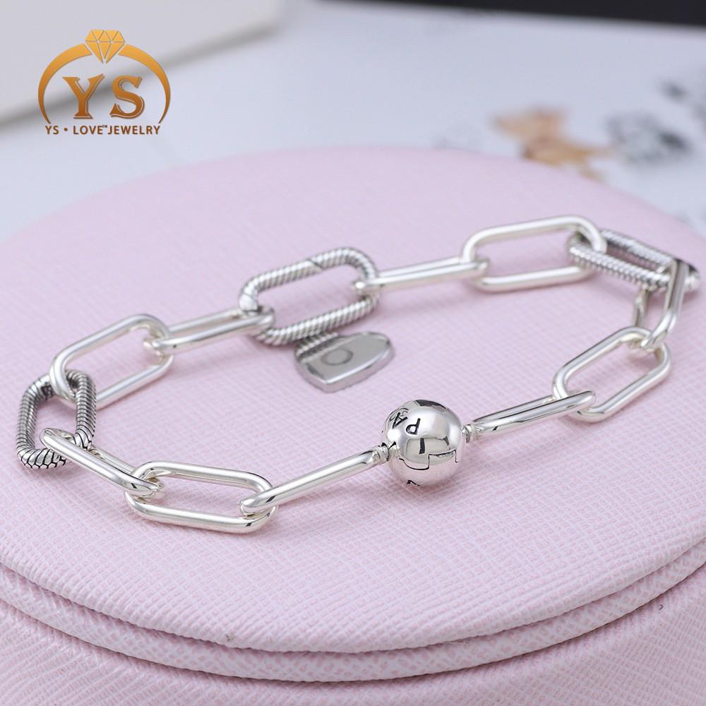 925 Silver Pandora Me Link Bracelet Chain 01