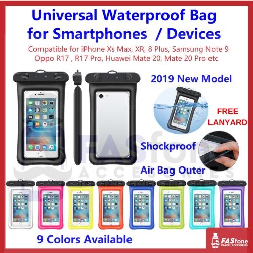 2019 Universal Waterproof Bag Air Bag Shockproof Smartphones iPhone Phone  device