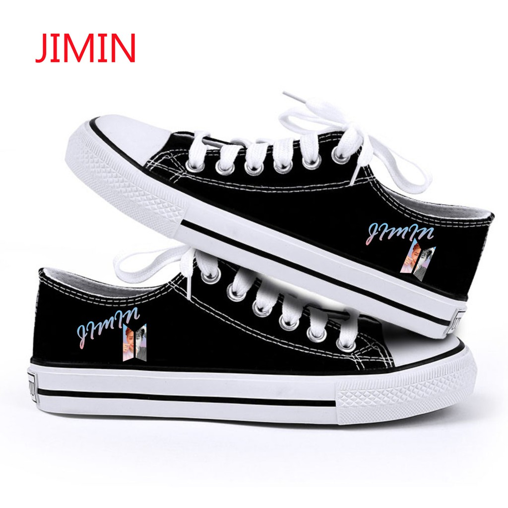 Bangtan Boys Same Style Shoes Canvas Shoes Chuck Taylor Casual Unisex US STOCK