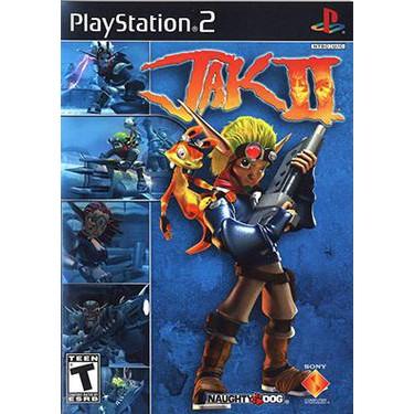 PS2  JAK 2 / JAK 3 / JAK 2 :Renegade / Jak X / Jak X:Combat Racing [Burning Disk]