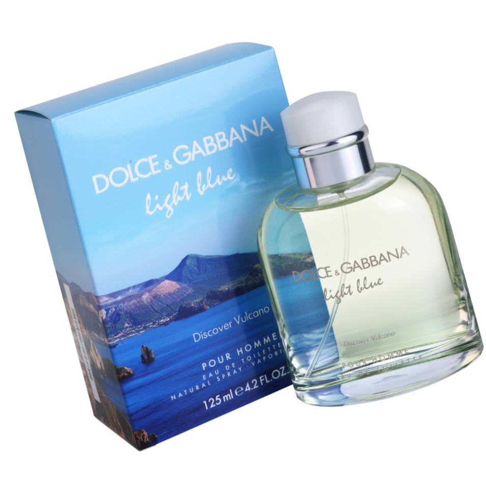 b0ac0a131117d3 Dolce   Gabbana Light Blue Discover Vulcano Pour Homme Edt For Men 125ml   Shopee  Malaysia