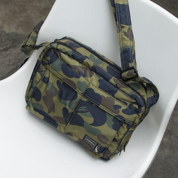 Bape A Bathing Ape Camo Crossbody Bag Men Sling Shoulder Bag From Japan Magazine
