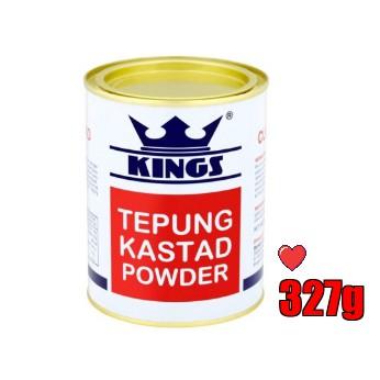 KINGS Tepung Kastad / Custard Powder 327g ( Free Fragile + Bubblewrap Packing )