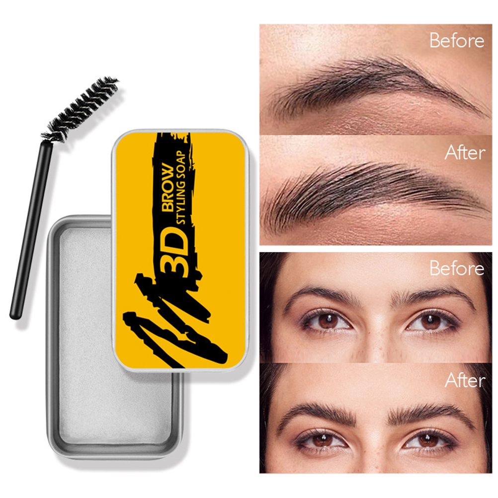 Styling Eyebrow Soap Gel Feathery