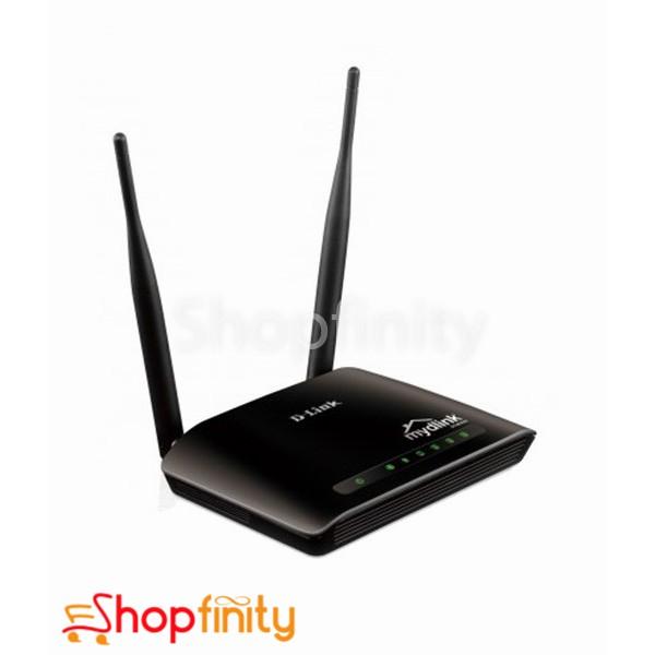 D-Link DIR-605L 300Mbps Wireless-N 2 x 5dBi antenna Router mydlink Cloud Service