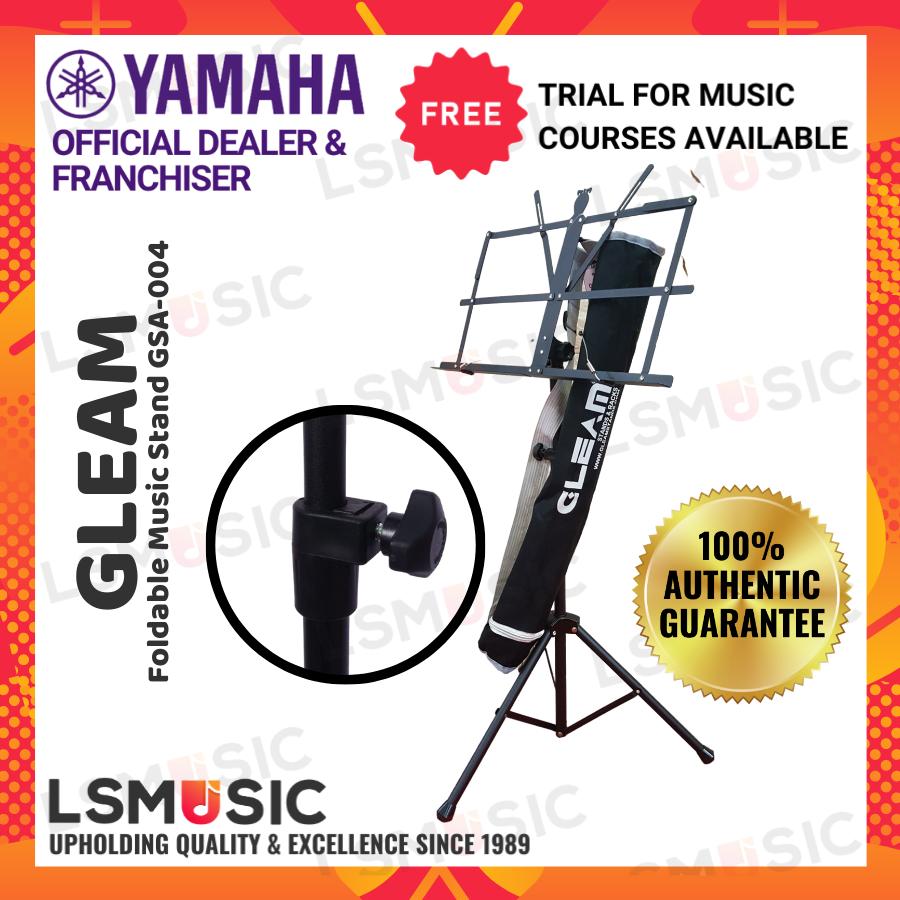 Gleam Foldable Music Stand with Bag / Musik Stand dgn Bag GLM002 / GLM-002