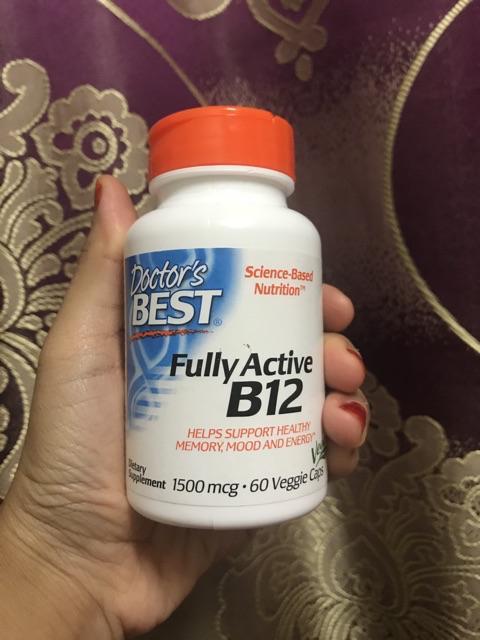 Vitamin B12 1500mcg 60 Veggie Caps | Shopee Malaysia