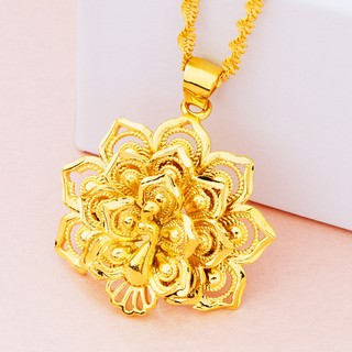 103744ccc779c brass gold plated open screen peacock flower pendant peacock ...