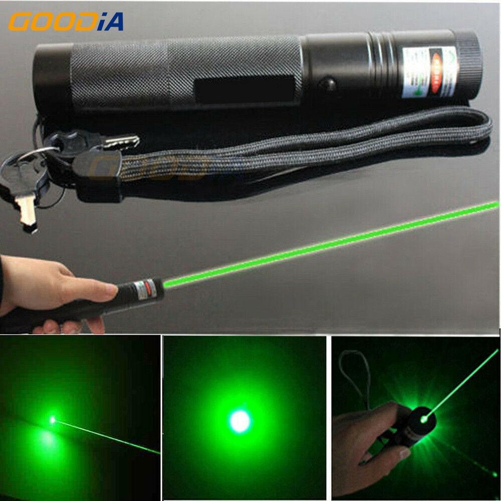 10000m 405nm 301 Purple Laser Pointer Pen High Power Lazer Visible Beam Light