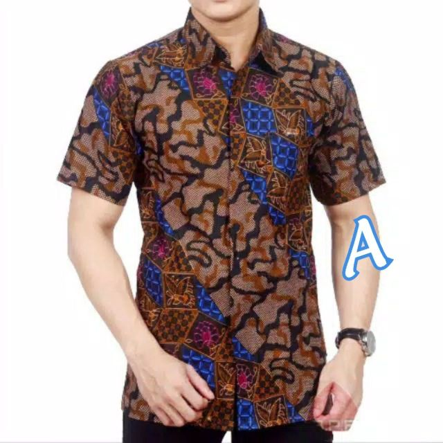 Kemeja batik jawa jumbo size