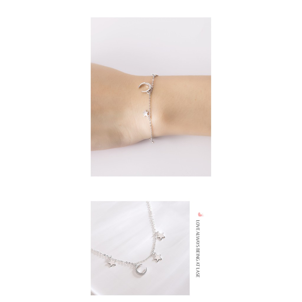 SONGBB necklace Fashion Love Strawberry Crystal Necklace Korean Sterling Silver Crystal Clavicle Chain