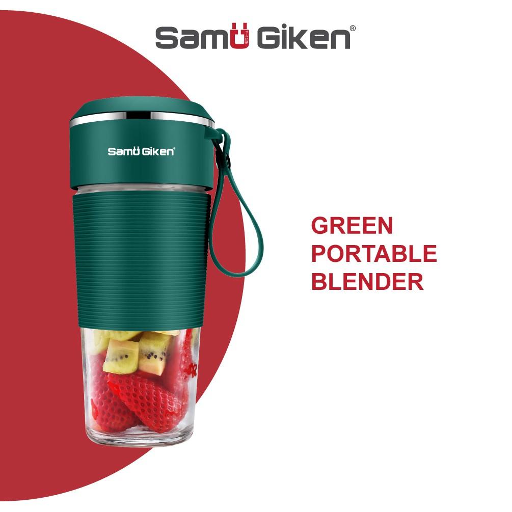 Samu Giken Portable USB Electric Fruit Juicer Cup Bottle Mix...