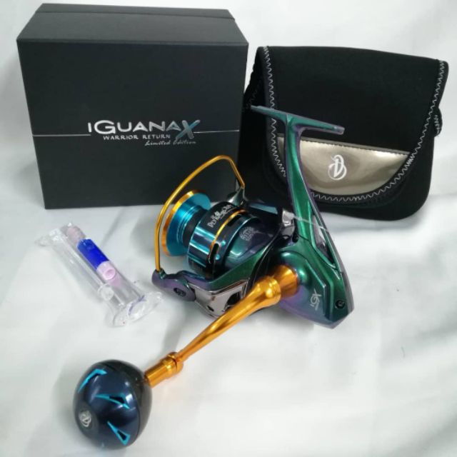 DEVIL CRAFT IGUANA-X SW SPINNING REEL