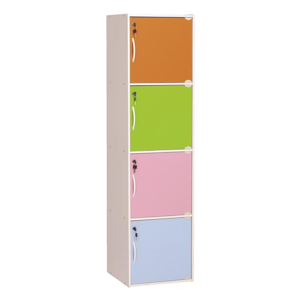 Codey 10 Door Storage Box With Lock/ locker cabinet